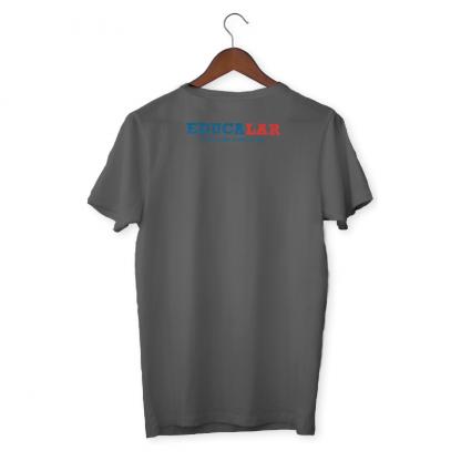 Camiseta Cinza Verso