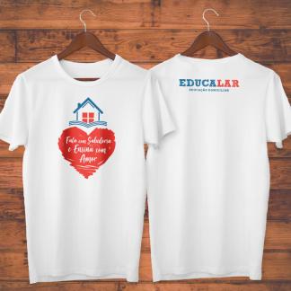 Camiseta Branca Educalar