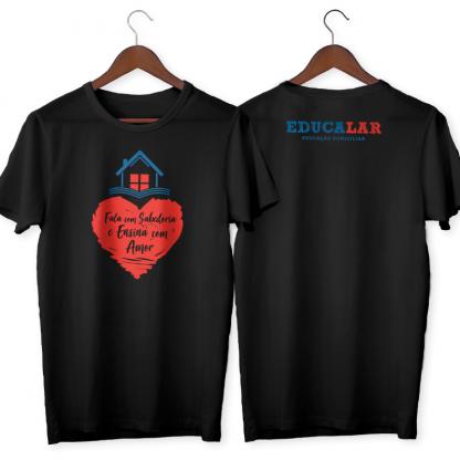 Camiseta Preta Educalar
